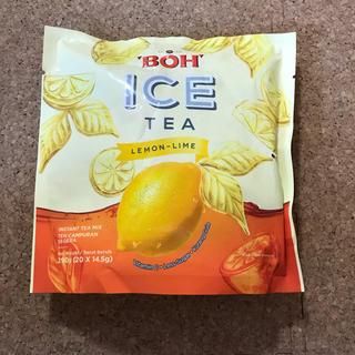 ボー(BOH)のBOH ICE TEA LEMON-LIME インスタントアイスレモンティー(茶)