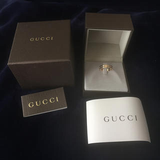 グッチ(Gucci)のGUCCI(グッチ) 国内限定モデル インフィニティリング(リング(指輪))