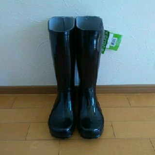 クロックス(crocs)のcrocs クロックス♡新品♡レインブーツ 長靴♡23cm(レインブーツ/長靴)