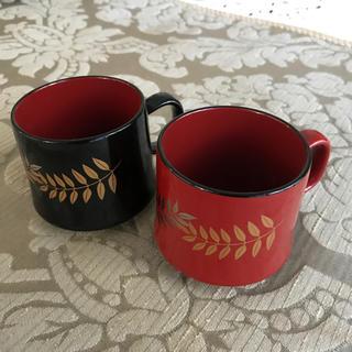 漆塗りのコーヒーカップ(漆芸)