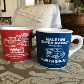 ハレイワ(HALEIWA)のノースショア、ハレイワのマグカップ2客(マグカップ)