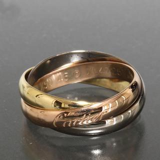 カルティエ(Cartier)のカルティエ cartier トリニティ リング size46 K18YGWGPG(リング(指輪))