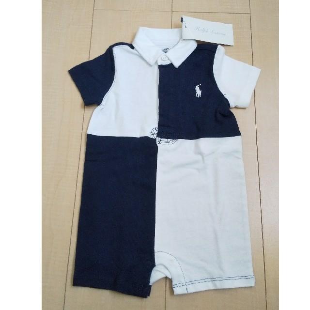 Ralph Lauren(ラルフローレン)のラルフローレン 半袖カバーオール 75 キッズ/ベビー/マタニティのベビー服(~85cm)(カバーオール)の商品写真