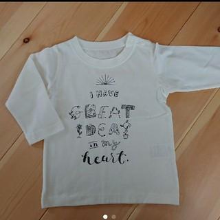 ベルメゾン(ベルメゾン)の綿100% 長袖Tシャツ(シャツ/カットソー)