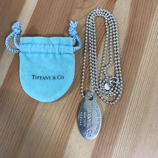 ティファニー(Tiffany & Co.)のティファニー リターントゥ プレート ネックレス(ネックレス)
