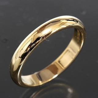 カルティエ(Cartier)のカルティエ cartier シンプル リング size55 K18YG 仕上済(リング(指輪))