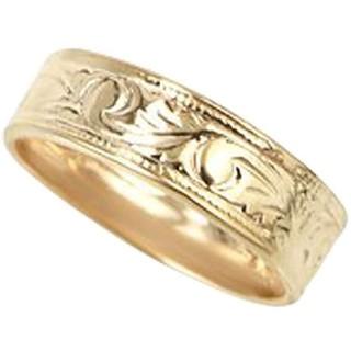 スクロールピンキーファランジリング(ミディリング)【ring ルピス】ゴールド (リング(指輪))