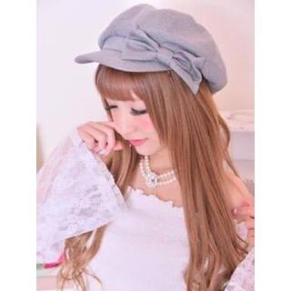 マーズ(MA*RS)のMARS リボンキャスケット帽(キャスケット)