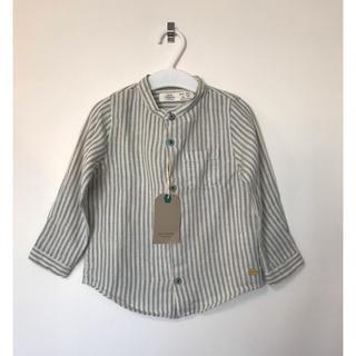 ザラ(ZARA)の最終値下げ 新品 ZARABaby ストライプシャツ 98㎝(ブラウス)