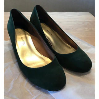オリエンタルトラフィック(ORiental TRaffic)のオリエンタルトラフィック パンプス 深緑色 グリーン(ハイヒール/パンプス)