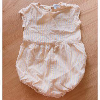 キャラメルベビー&チャイルド(Caramel baby&child )のキャラメル ロンパース12m(ロンパース)