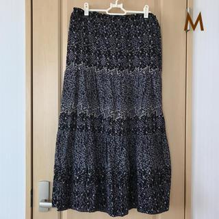 ベルメゾン(ベルメゾン)のインド綿★ロングスカート M(ロングスカート)