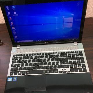 エイサー(Acer)のwindows10 ノートパソコン core i5 ノートPC(ノートPC)
