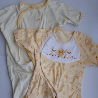 b5dc88f944971 アカチャンホンポ(アカチャンホンポ)の新生児 50~60 2wayカバーオール まとめ売り(カバーオール)