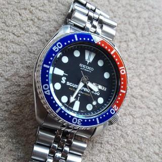セイコー(SEIKO)の美品 SEIKO 6309改6306スキューバプロ仕様(腕時計(アナログ))