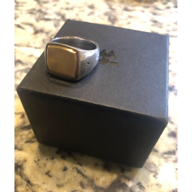 Ron Herman(ロンハーマン)のtomwood トムウッド ゴールド リング 18号 正規品 メンズのアクセサリー(リング(指輪))の商品写真