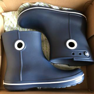 クロックス(crocs)のクロックス長靴  レディース  新品未使用品(レインブーツ/長靴)