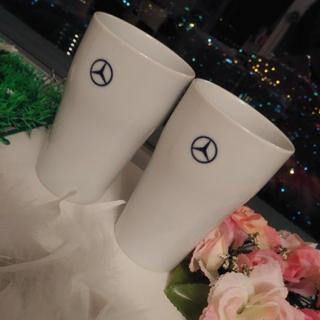 ビーエムダブリュー(BMW)のメルセデス ベンツ 有田焼 ペアカップ(グラス/カップ)
