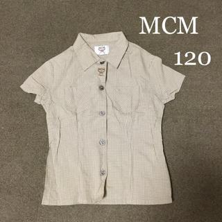エムシーエム(MCM)のMCM 半袖シャツ 120(ブラウス)