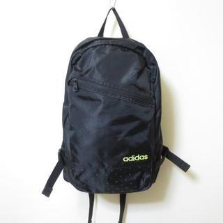 アディダス(adidas)の未使用 アディダス ブラック リュックサック デイパックK194(リュック/バックパック)