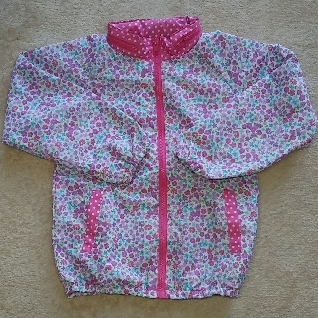 Orange bonbon(オレンジボンボン)のウインドブレーカ 女の子 130cm キッズ/ベビー/マタニティのキッズ服女の子用(90cm~)(ジャケット/上着)の商品写真