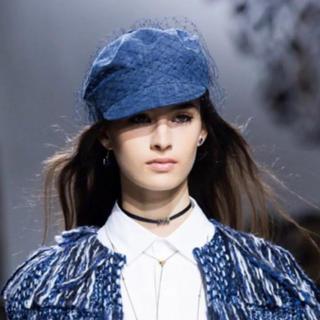 クリスチャンディオール(Christian Dior)の本日限定大値下げ‼︎ 希少☆ Dior チュール キャスケット 帽子 (キャスケット)