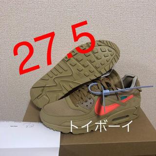 ナイキ(NIKE)の【27.5】OFF-WHITE ×  AIR MAX 90 DESERT ORE(スニーカー)