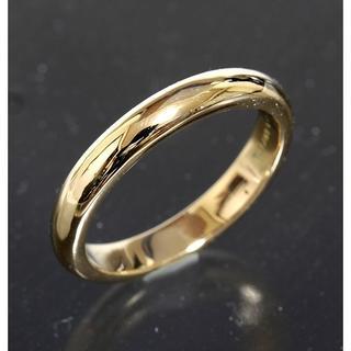 ティファニー(Tiffany & Co.)のティファニー TIFFANY&CO.シンプル リング 7号 K18YG 仕上済(リング(指輪))