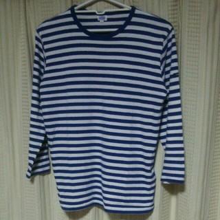 アルモーリュックス(Armorlux)のARMORLUX ボーダー Tシャツ サイズ1 カットソー インポート マリン(Tシャツ(長袖/七分))