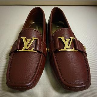 ルイヴィトン(LOUIS VUITTON)の新品!モンテカルロ ローファーシューズ(ローファー/革靴)