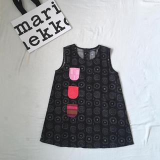 マリメッコ(marimekko)のマリメッコ 可愛い♡ハッピードレス     / ミナペルホネン こどもビームス (ワンピース)