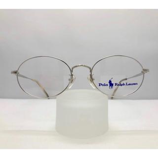 ポロラルフローレン(POLO RALPH LAUREN)のポロ・ラルフローレン 新品 銀縁 ブランド フレーム ビンテージ レトロ 眼鏡(サングラス/メガネ)