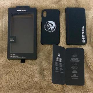 ディーゼル(DIESEL)のDIESEL 手帳型iPhoneXケース  (iPhoneケース)