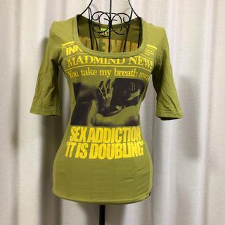 スライ(SLY)のSLY  ウグイス色Tシャツ(Tシャツ(半袖/袖なし))