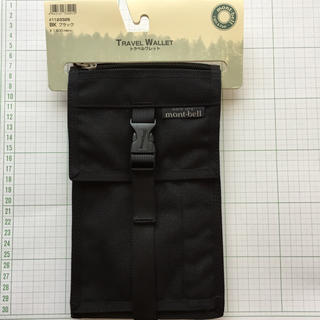 モンベル(mont bell)の新品 未使用 モンベル トラベルウォレット パスポートケース(旅行用品)