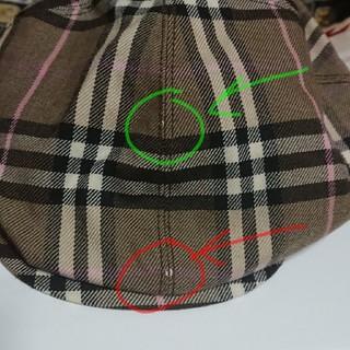 バーバリーブルーレーベル(BURBERRY BLUE LABEL)の※mint様専用※ BURBERRY ハンチング帽(ハンチング/ベレー帽)