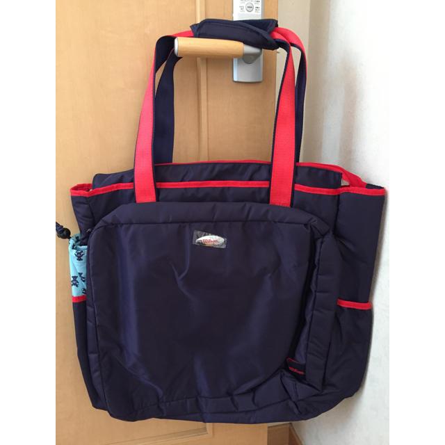 wilson(ウィルソン)のウイルソン トートバッグ スポーツ/アウトドアのテニス(バッグ)の商品写真