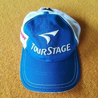 ツアーステージ(TOURSTAGE)のTOURSTAGEツアーステージ。ゴルフキャップ(ウエア)