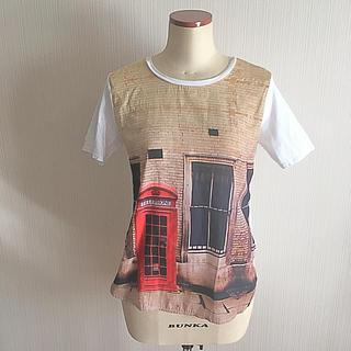 アッシュペーフランス(H.P.FRANCE)のgiordano Tシャツ 夏(Tシャツ(半袖/袖なし))