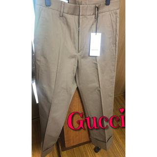 グッチ(Gucci)の新品未使用 Gucci グッチ オーバーサイズ スラックス (スラックス)