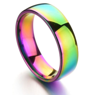レインボーリング(リング(指輪))
