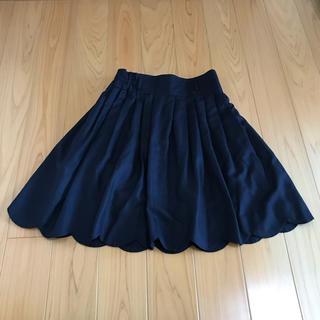 パウダーシュガー(POWDER SUGAR)のパウダーシュガー スカート 日本製 サイズ38(ひざ丈スカート)