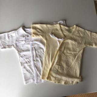 ニシマツヤ(西松屋)の新生児肌着【未使用】(肌着/下着)