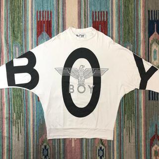 ボーイロンドン(Boy London)のボーイロンドン ドルマンスリーブ スウェット アメリカ製 ホワイト 希少(スウェット)