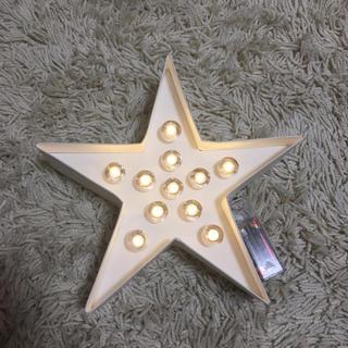 フランフラン(Francfranc)のマーキーライト 星(その他)