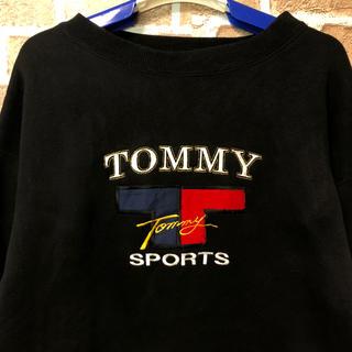 トミーヒルフィガー(TOMMY HILFIGER)の【超希少】TOMMY SPORTS トミー ビッグシルエット スウェット ポロ(スウェット)