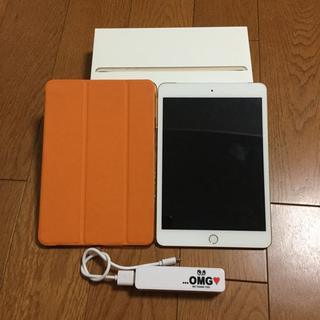 アイパッド(iPad)のおまけ付☆ iPad mini3 Wi-Fi セルラーモデル  ゴールド (タブレット)