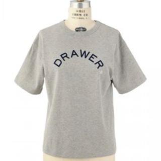 ドゥロワー(Drawer)のkenka様 ドゥロワー Drawer プリント ショートスリーブ カットソー(Tシャツ(半袖/袖なし))