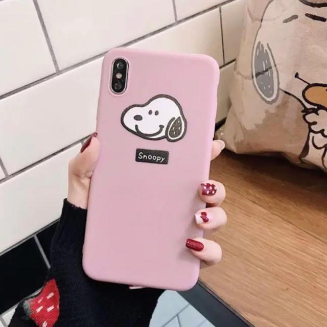 SNOOPY - iPhone XRケース スヌーピーの通販 by さっこ|スヌーピーならラクマ