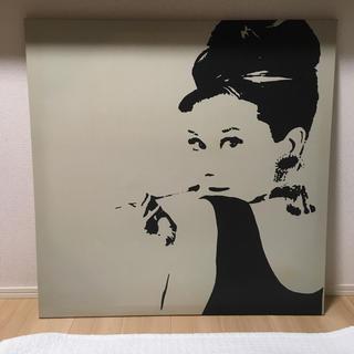 イケア(IKEA)の【送料込】イケア IKEA オードリーヘップバーン 壁掛けアート(アート/写真)